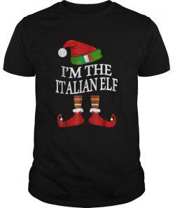 Im The Italian Elf Matching Group Family Christmas  Unisex