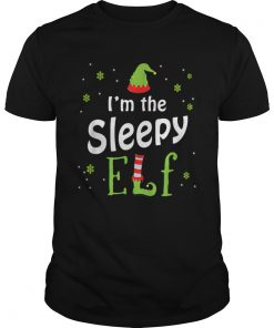 Im The Sleepy Elf Funny Group Matching Family Xmas Gift  Unisex