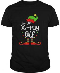 Im The Xray Tech ELF Christmas Xmas Funny Matching Squad  Unisex