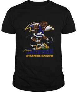 Lamar Jackson Mens Large Baltimore Ravens Jersey  Unisex