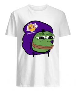 Los Angeles Lakers Sad Pepe the Frog  Classic Men's T-shirt