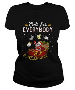 Nice Cats For Everybody Christmas  Classic Ladies