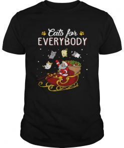 Nice Cats For Everybody Christmas  Unisex