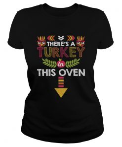 Nice Thanksgiving Baby Announcement Turkey in this Oven  Classic Ladies