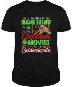 Nice Watch Christmas Movies With My Goldendoodle Christmas Gifts  Unisex