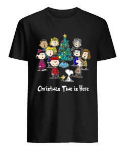 Peanuts Charlie Brown Snoopy Christmas Time is here  Classic Men's T-shirt