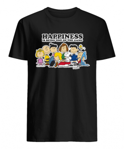 Peanuts Charlie Brown Snoopy Happiness is being one of the Gang  Classic Men's T-shirt
