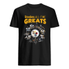 Pittsburgh Steelers All-Time Greats Players Signatures  Classic Men's T-shirt