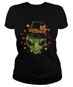 Pretty Thanksgiving Alien Pilgrim Costume Men Women  Classic Ladies