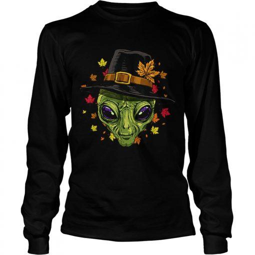 Pretty Thanksgiving Alien Pilgrim Costume Men Women  LongSleeve