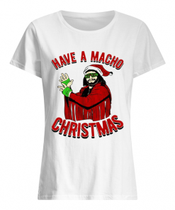 Randy Savage Have a macho Christmas  Classic Women's T-shirt