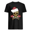 Santa Skull Leopard Christmas  Classic Men's T-shirt