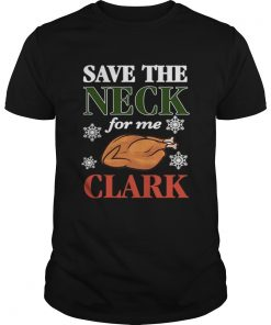 Save The Neck For Me Clark Christmas Vacation Cousin Eddie Apron  Unisex