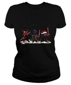 Star Wars Darth Maul Darth Vader Kylo Ren Christmas  Classic Ladies