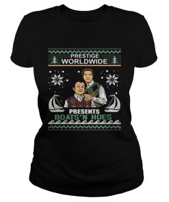 Step Brothers Prestige worldwide presents boats n hoes Christmas  Classic Ladies
