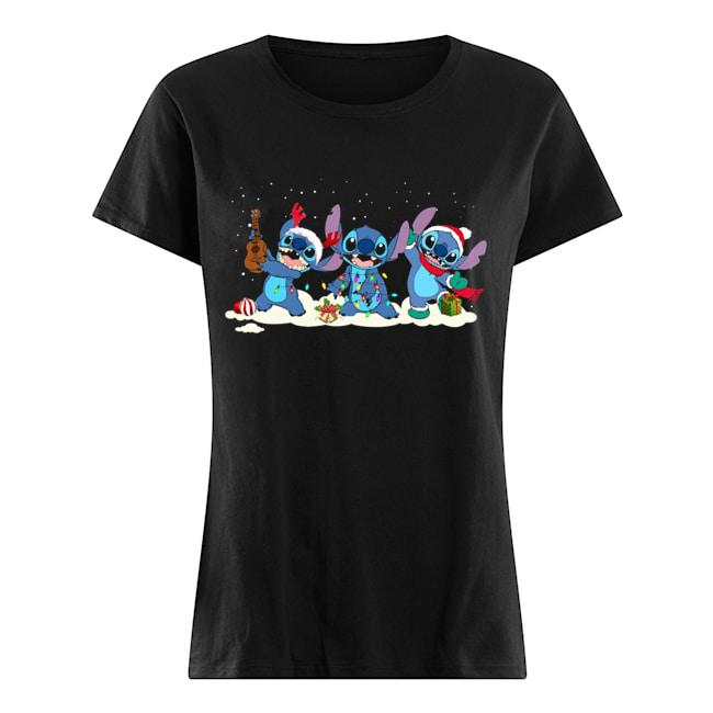 Stitch Funny Christmas Classic Women's T-shirt
