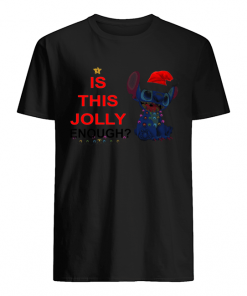Stitch is this Jolly Enough  Classic Men's T-shirt