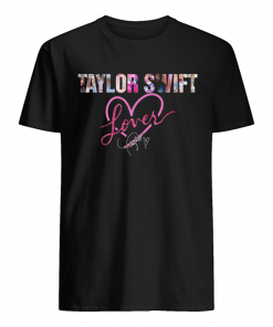 Taylor Swift Lover Signature  Classic Men's T-shirt