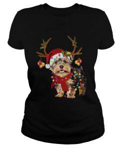 Yorkshire Terrier Gorgeous Reindeer Christmas  Classic Ladies