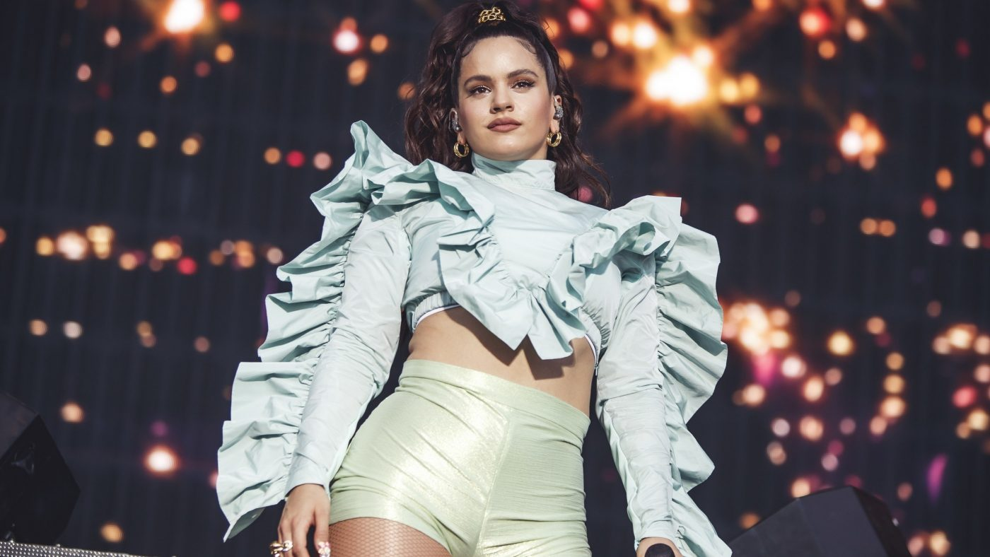 Rosalía Gives Traditional Flamenco Style a Bold Twist at the MTV EMAs