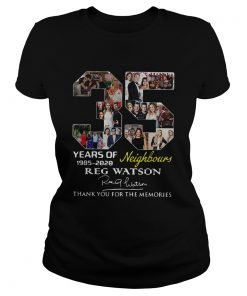 35 Years of Neighbours Reg Watson thank you for the memories  Classic Ladies