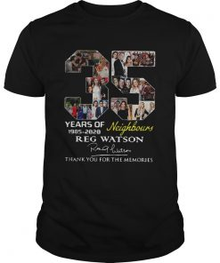 35 Years of Neighbours Reg Watson thank you for the memories  Unisex