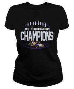 AFC North Division Champions Baltimore Ravens  Classic Ladies