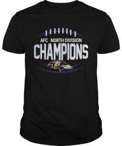 AFC North Division Champions Baltimore Ravens  Unisex