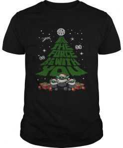 Baby Yoda May The Force Be With With You Christmas Tree  Unisex