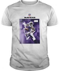 Baltimore Ravens Lamar Jackson 8  Unisex