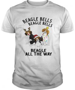 Beagle Bells Beagle All The Way Christmas  Unisex