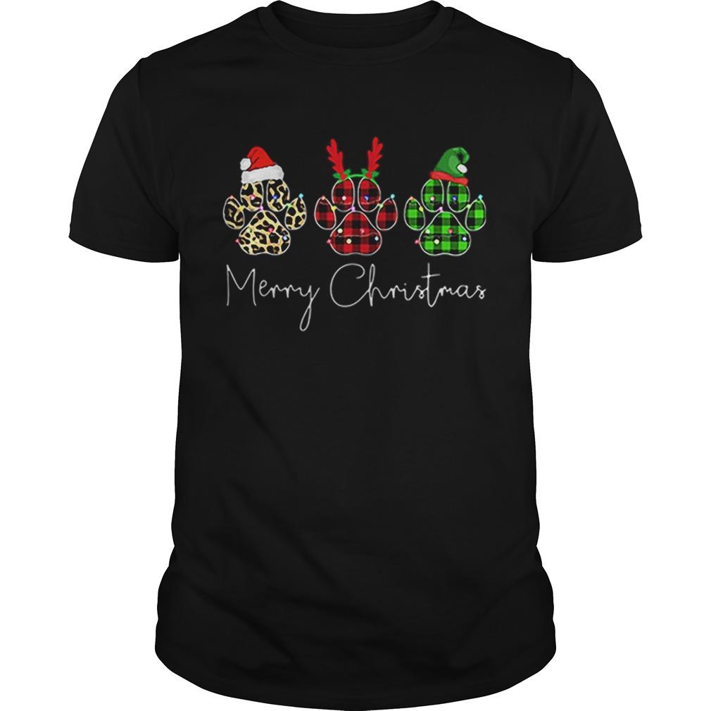 Bear Paw Merry Christmas Leopard Shirt Masswerks Store