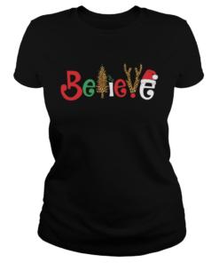 Believe Christmas  Classic Ladies
