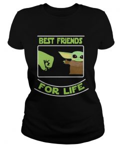 Best Friends For Life Baby Yoda  Classic Ladies