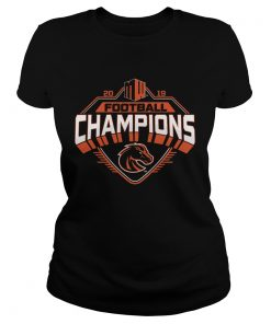 Boise State Broncos 2019 Mountain West Football Champions  Classic Ladies