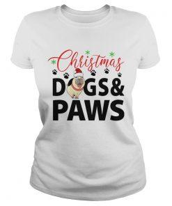 Christmas DogsPaws  Classic Ladies