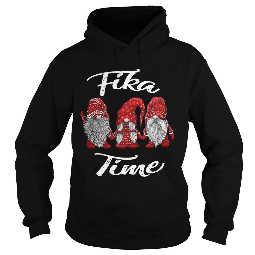 Christmas Gnomes Fika Time Hoodie