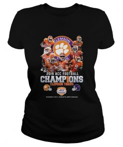 Clemson Tigers 2019 ACC Football Champions  Classic Ladies