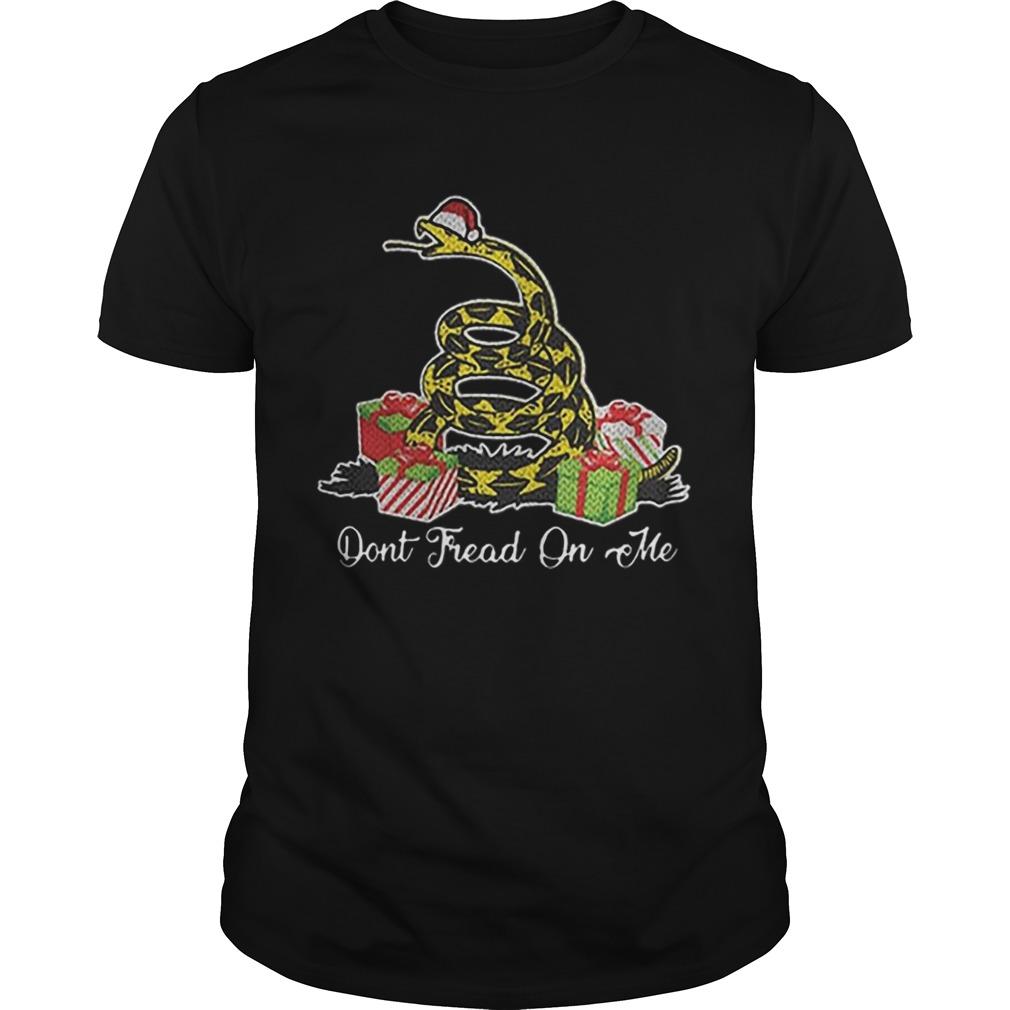 Dont Fread On Me Santa Ugly Christmas Shirt Masswerks Store