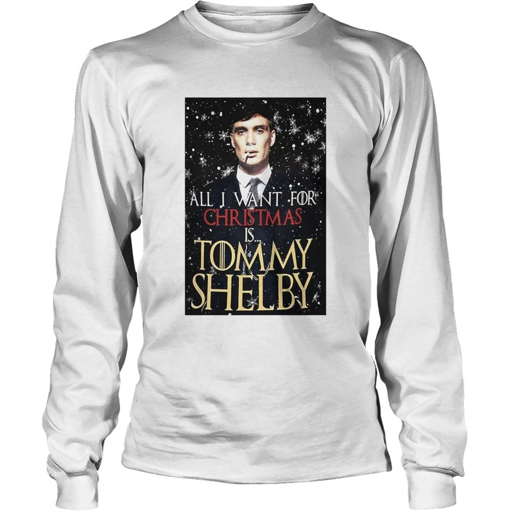 Peaky Blinders All I Want For Christmas Is Tommy Shelby Shirt Masswerks Store