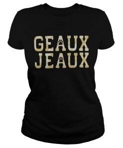 Geaux Jeaux Joe Burrow LSU Football  Classic Ladies