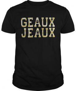Geaux Jeaux Joe Burrow LSU Football  Unisex