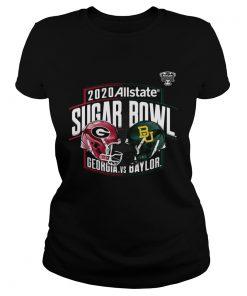 Georgia Bulldogs vs Baylor Bears Fanatics Branded 2020 Sugar Bowl Matchup  Classic Ladies