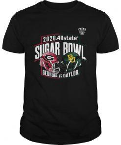Georgia Bulldogs vs Baylor Bears Fanatics Branded 2020 Sugar Bowl Matchup  Unisex