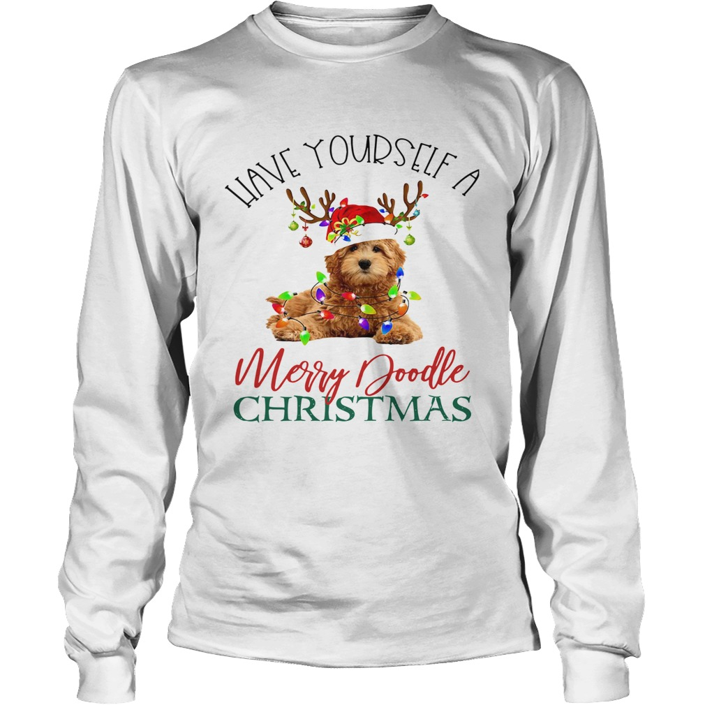 Have Yourself A Merry Doodle Christmas LongSleeve