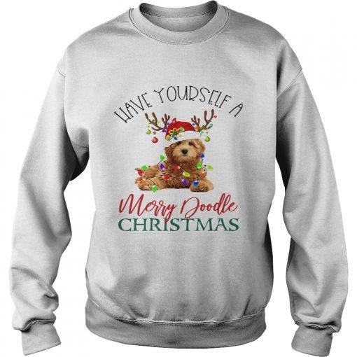 Have Yourself A Merry Doodle Christmas  Sweatshirt