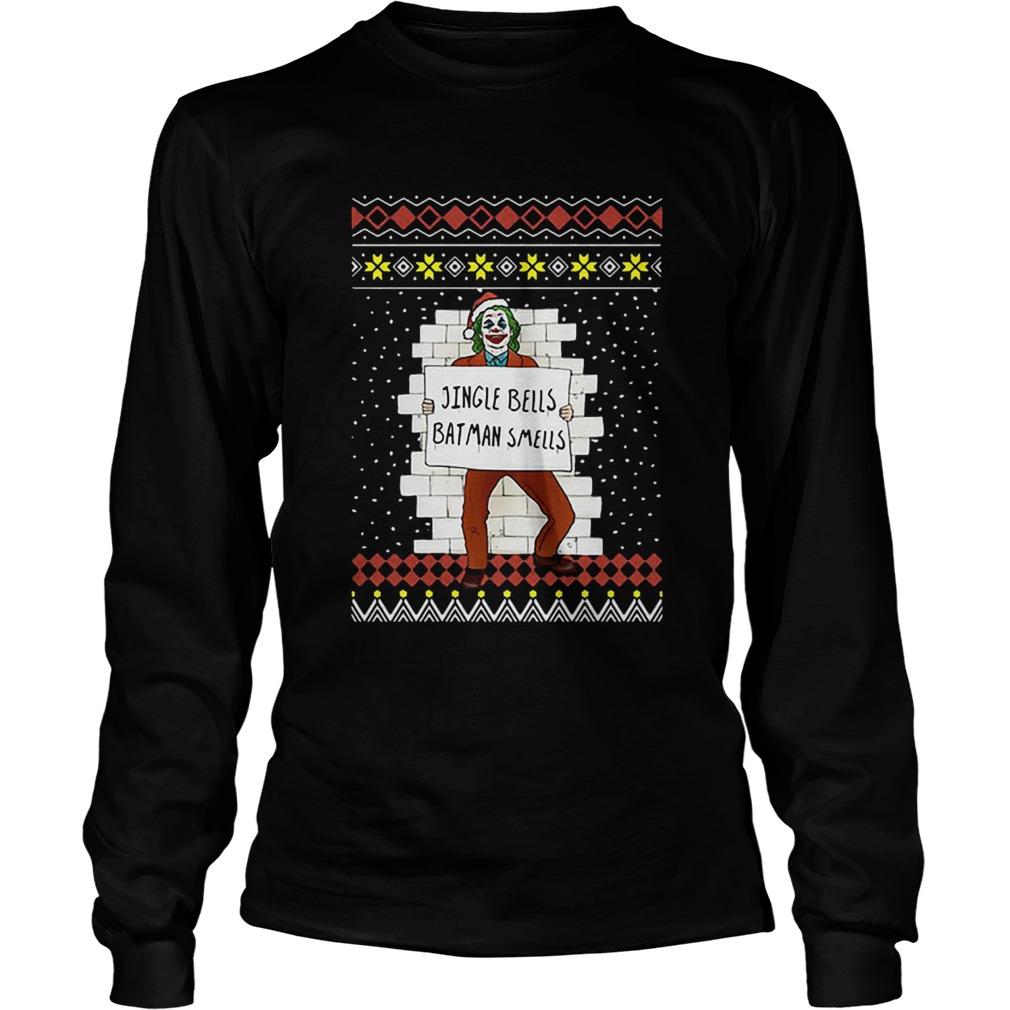 Joker Jingle Bells Batman Smells Ugly Christmas Shirt Masswerks Store