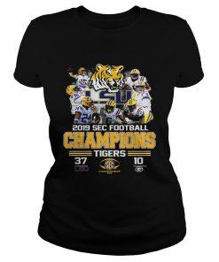 LSU Tigers 37 Georgia Bulldogs 10 Score 2019 SEC Champions  Classic Ladies