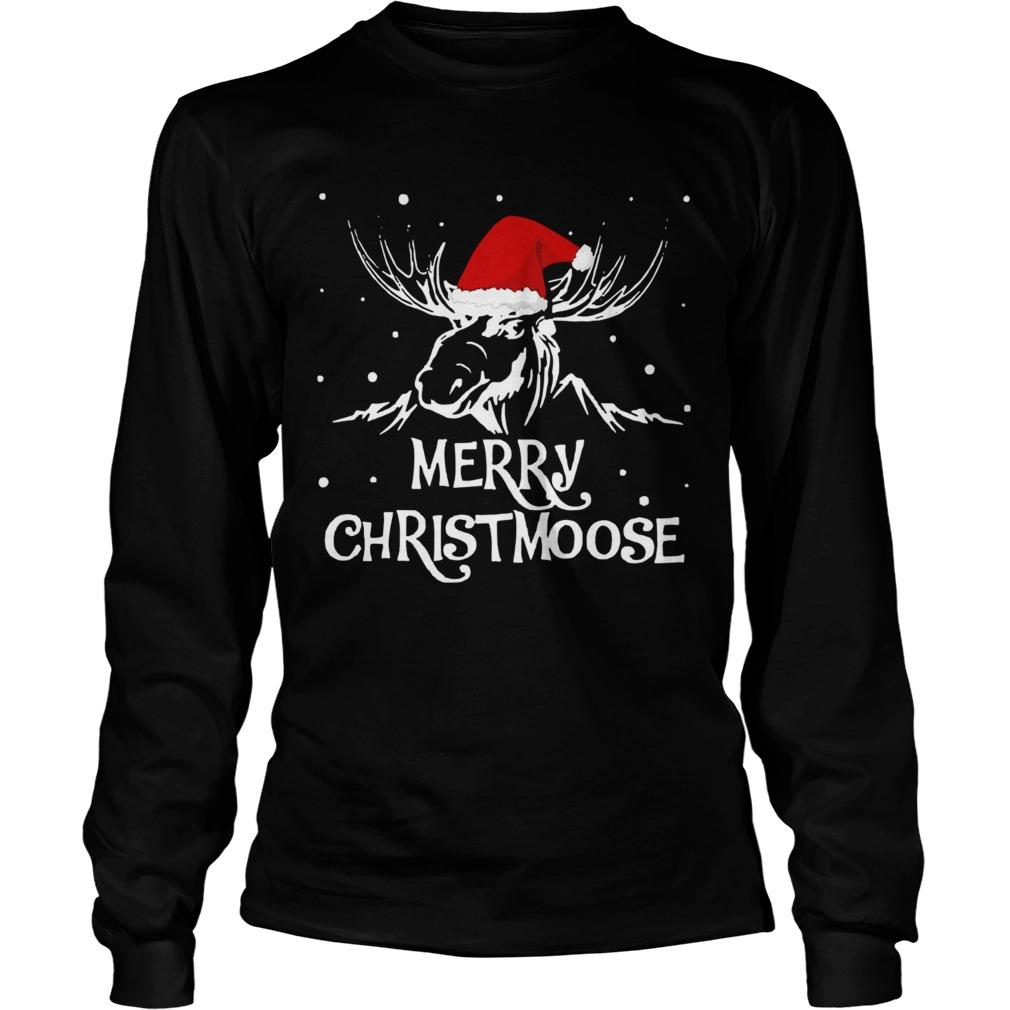 Merry Christmoose Christmas LongSleeve