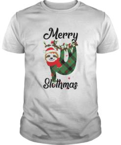 Merry Slothmas  Unisex